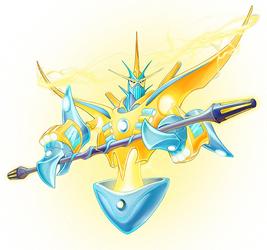 Ra-Vu, Seeker of Lightning Evolved.png