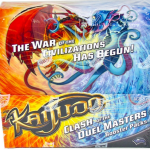 Kaijudo Clash of the Duel Masters The 5 Mystics Booster Box 24 Packs