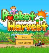 Pocket Harvest - Title Screen