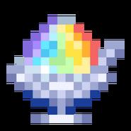 -B- Rainbow Snow Cone