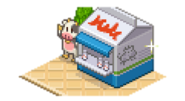 8-Bit Farm - Fresh Milk Stand (Shop)