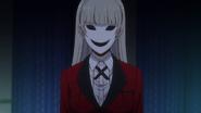 Kakegurui anime episode 2 Ririka Momobami profile image.PNG