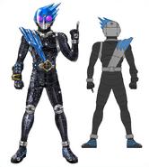 Kamen Rider Meteor concept art