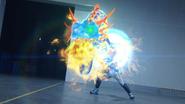 Lock Mega Slash + Cross-Z Dragon Let's Break Step 3