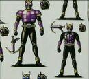 Initial Designs Of Pegasus-Form (Purple)