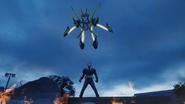 KR01-Shining Assault Hopper Rider Model (Armor Form)