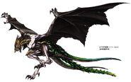 Gara Dragon concept art