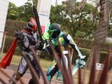 An episode of Kamen Rider Kenzan