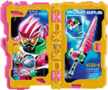KRSa-Ex-Aid Iryou Nisshi Wonder Ride Book (Transformation Page)