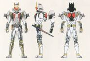 Zangetsu Fourze Arms concept art
