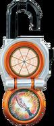 KRGa-Orange Lockseed Opened