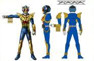 Kamen Rider Beast Hyper concept art