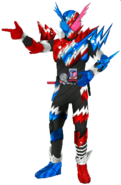 Kamen Rider Bulid RabbitTank Sparking in City Wars