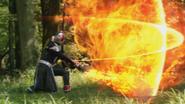 Flame Slash Cross