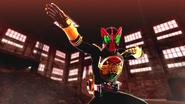 Kamen Rider OOO intro in Battride War Genesis