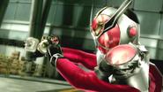 Kamen Rider Wizard Dragon in Battride War Genesis