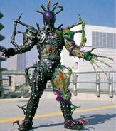 Ace of Clubs Spider Undead