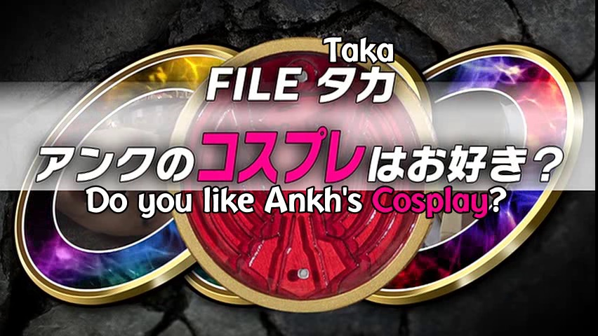 File Taka: What is Ankh's Favorite Cosplay?