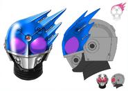 Kamen Rider Meteor Profile concept art