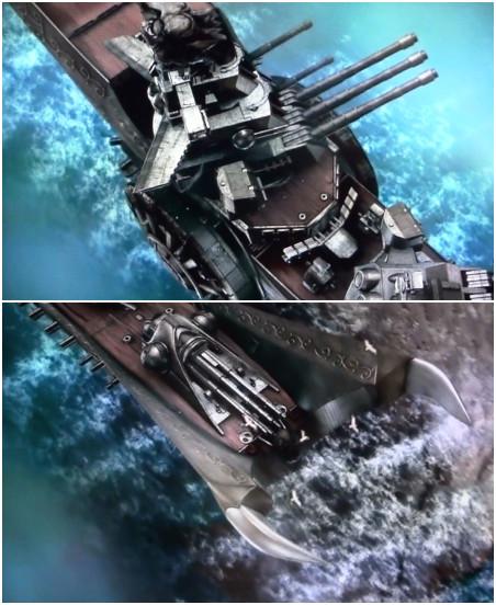 Demon's Warship