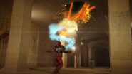 Volcanic Attack (Rider Kick) Step 3