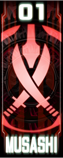 KRGh-Musashi Ghost Eyecon (Top Sticker)