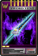 KRRy-Sword Vent Card (Knight)