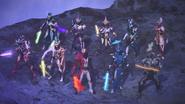 Saber Ten Riders