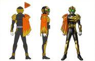 Kamen Rider beast Falco mantle
