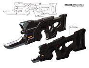 Guardian's Safeguard Rifle concept art