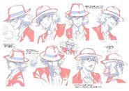 Shotaro Character Model Sheet 2
