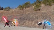 Castle Scrap Break + Fukurou Kuwagata Twin Break Step 1