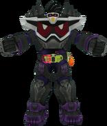 Kamen Rider Genm God Maximum Mighty X in City Wars
