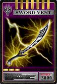 KRRy-Sword Vent Card (Ryuga)