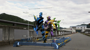 KaizokuRessya Snap build ride