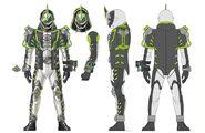 Kamen Rider Necrom concept art