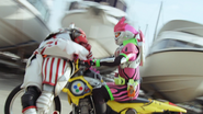 Bakusou Critical Strike (Ex-Aid Level 2) (Rider Break)
