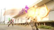 Hissatsu Time Burst (Shooting) Step 1