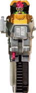 KREA-Maximum Mighty X Gashat (Front View)