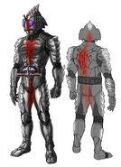 Kamen Rider Amazon sigma concept art