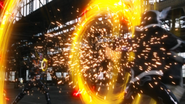 Noko Setsuzan + Burning Sun Explosion Step 1