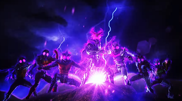 Dark Seven Legendary Riders