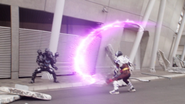 MadRogue Evoltic Attack (Slashing and shooting) Step 1