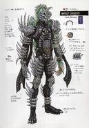 Wolf Undead concept art