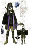 Hime of Orochi concept art