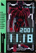 KRDO-Spider Imagin Rider Ticket (Zeronos Ver.)