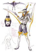 Pteranodon Yummy (Female) concept art