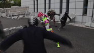 Ex-Aid fight in Heisei Generations Forever