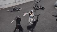 Fourze fight in Heisei Generations Forever