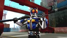 Kamen Rider Den-O Rod Form intro in Battride War Genesis.png